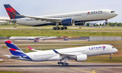Latam e Delta Airlines