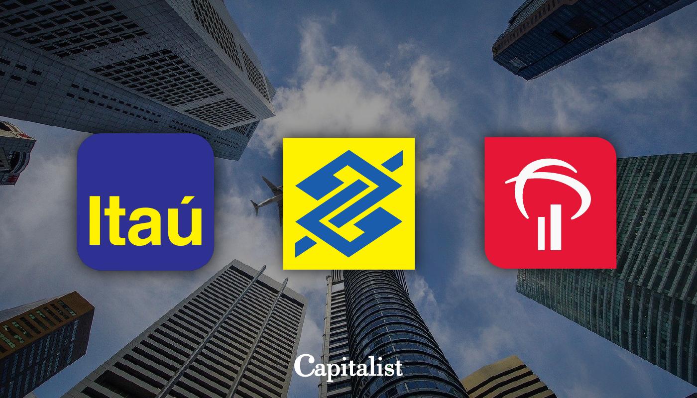 Itaú, Banco do Brasil e Bradesco