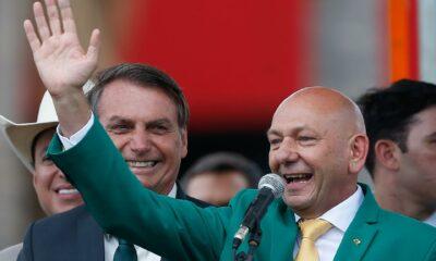 Luciano Hang e Bolsonaro