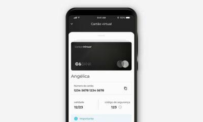 Cartão virtual C6 Bank