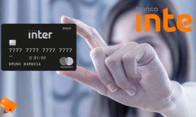 cartão Mastercard Black do Banco Inter
