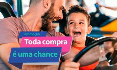 """Promoção """"Toda Compra é uma Chance"""""""