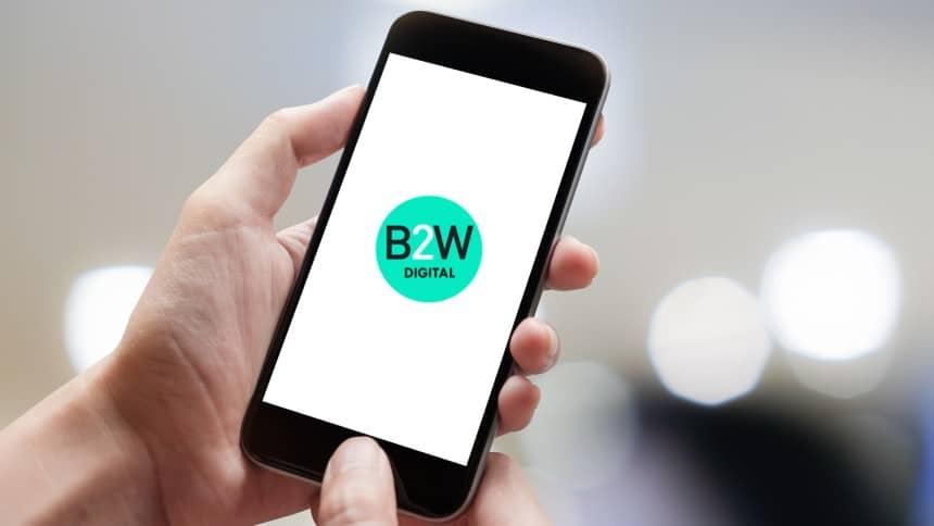 B2W anuncia acordo comercial com plataforma mobile de social commerce