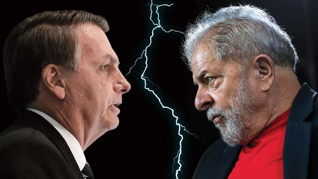 Bolsonaro vs Lula