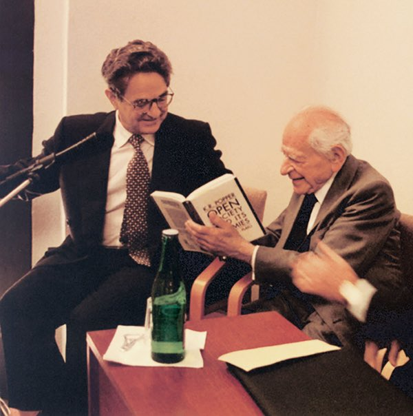 Karl Popper e George Soros