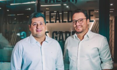 Hugo Villas CEO VLG investimentos e Daniel Lins Head Recife