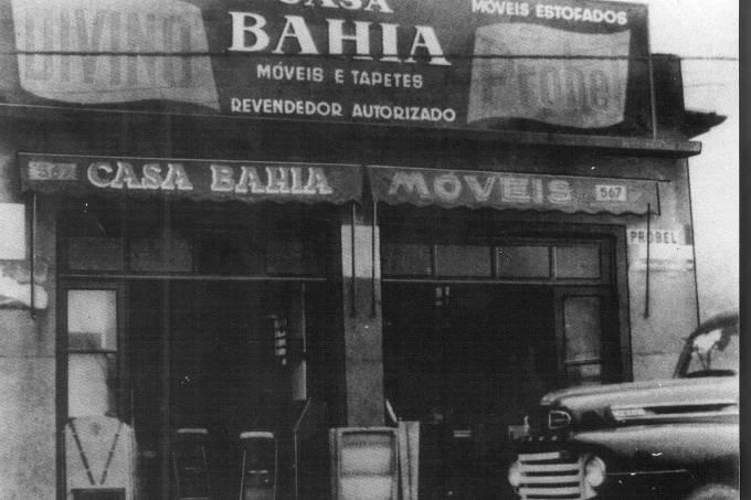 Casa Bahia, primeira loja comprada por Samuel Klein, pai de Michael