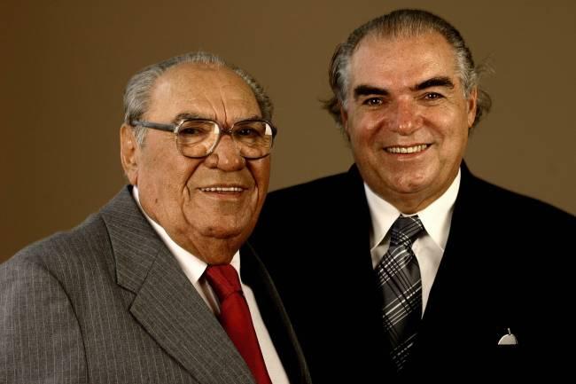 Michael Klein e o pai, Samuel Klein