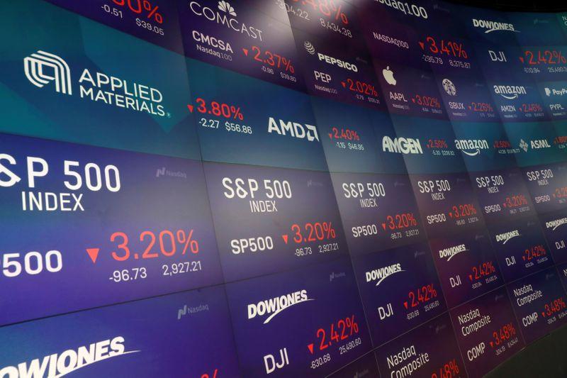 Ações na Bolsa