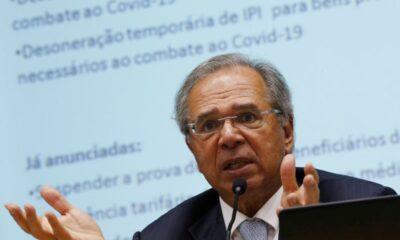 Guedes fala em até R$ 30 bi em crédito a pequena empresa com garantias da União
